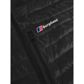 Berghaus Extrem Micro 2.0 Donsjas Heren, jet black/grey pinstripe